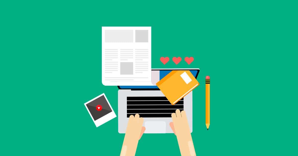 crear contenido con keywords