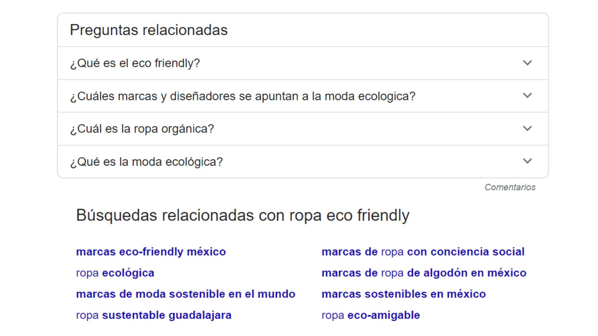 resultados de búsqueda relacionados